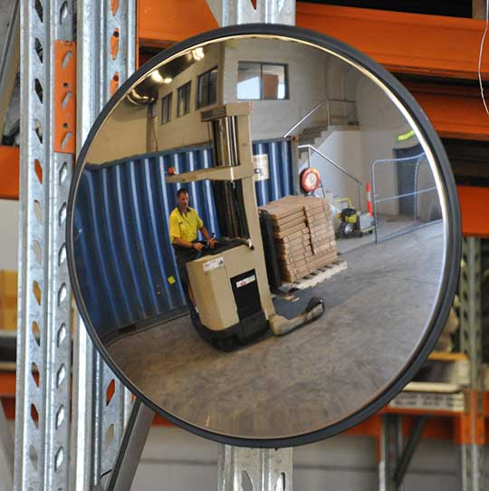 Internal Convex Mirror